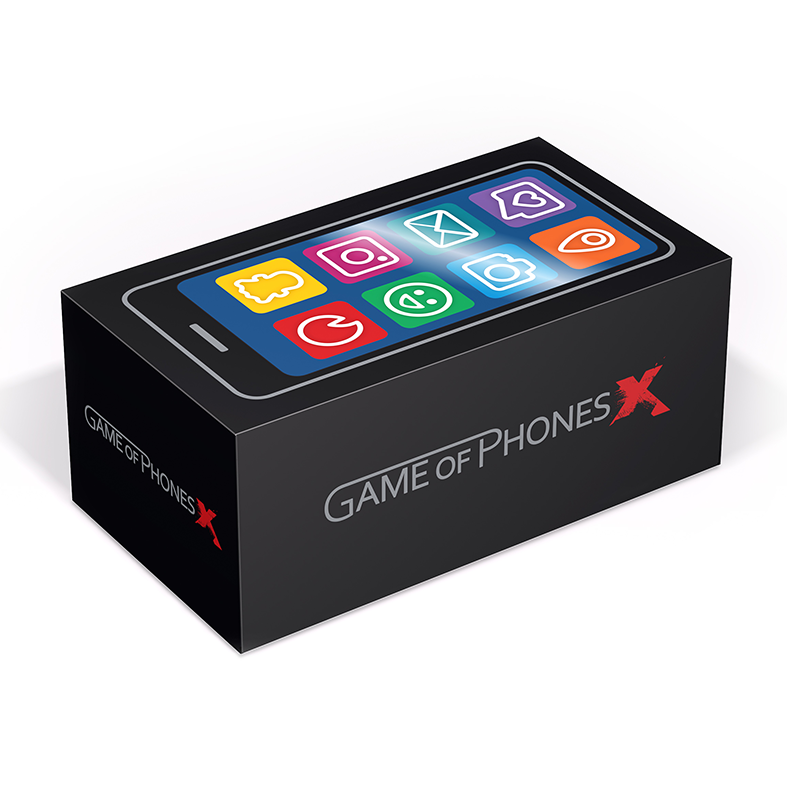 Game of Phone X boks
