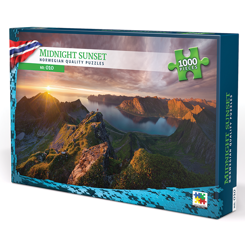Midnight sunset puzzle