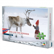 Anja and the reindeer puzzle.